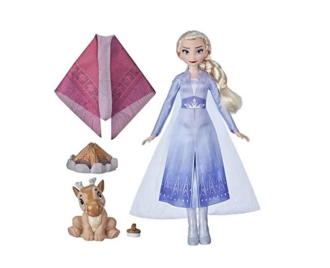 Boneca Frozen 2 Elsa Acampamento Com Amigos Disney Hasbro
