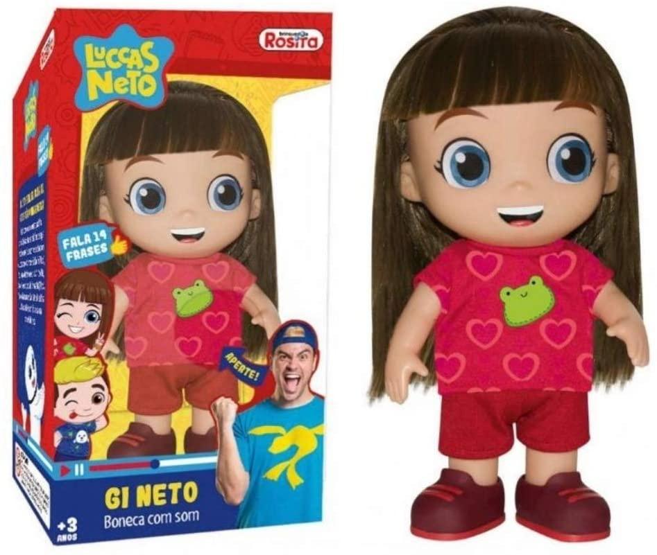 Boneca Gi neto com Som Rosita
