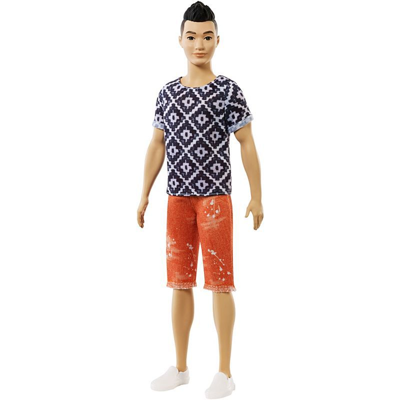Boneca Ken Fashionistas  Boho Hip - Mattel - FXL62