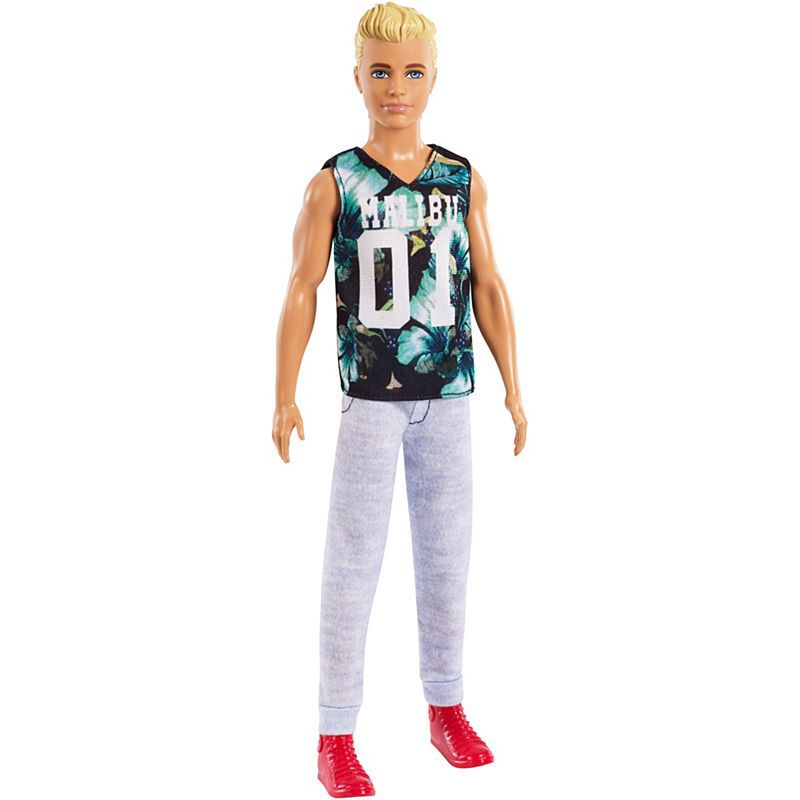 Boneca Ken Fashionistas cabelo loiro - Mattel - FXL63