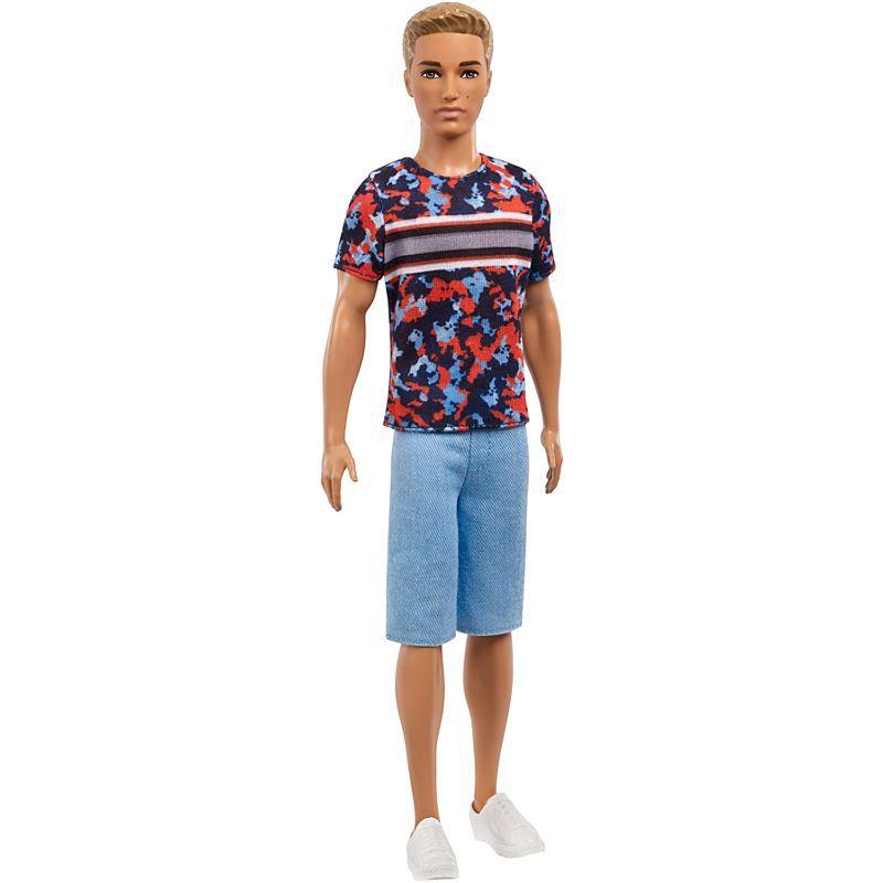 Boneca Ken Fashionistas cabelo loiro - Mattel - FXL65