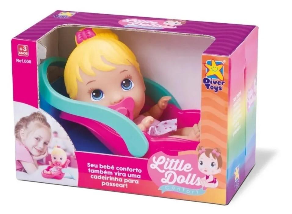 Boneca Little Dolls Conforto Divertoys
