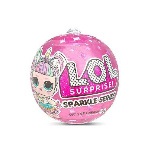 Boneca Lol Surprise Sparkle Series 7 Surpresas Candide- 8928