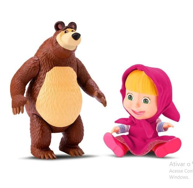 Boneca masha e o urso bonecos  8117  Diver Toys