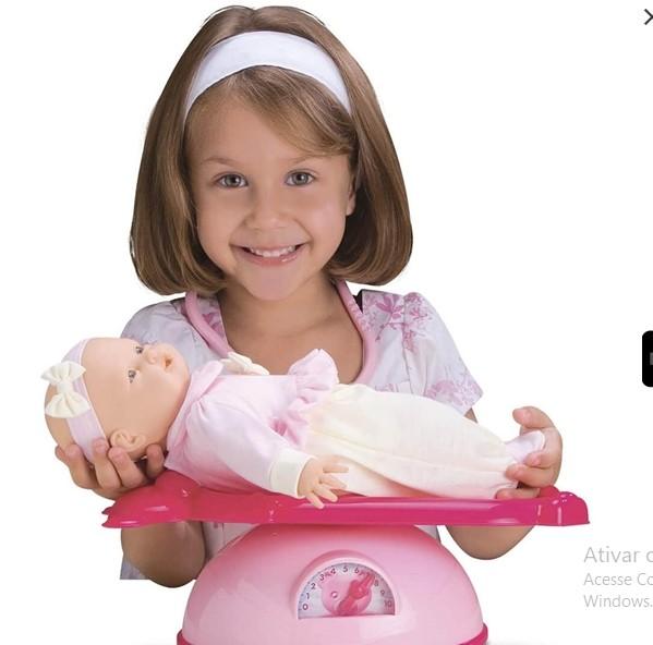 Boneca Mini Bebê Mania Pediatra Roma