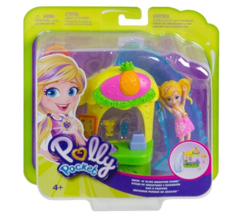 Boneca Polly Quiosque Parque Do Abacaxi GFR00 Mattel