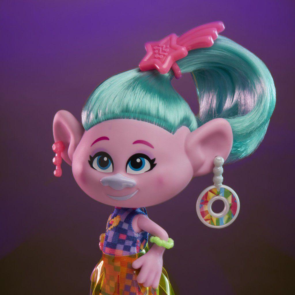 Boneca Trolls Cetin Glamour Hasbro E6569