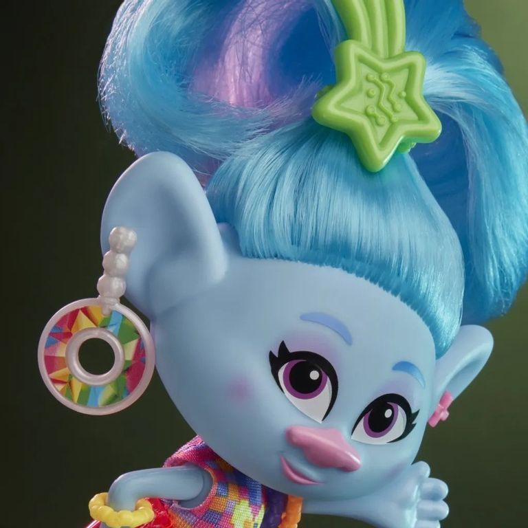Boneca Trolls Chenille Glamour 16 cm  Hasbro E6569