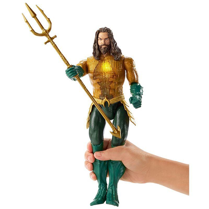 Boneco Aquaman Ataque com Tridente- Mattel- GBN27
