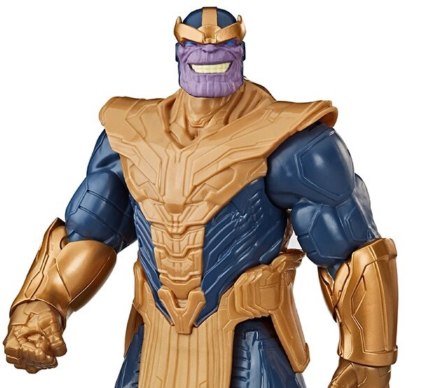 Boneco Avengers Marvel F12 Titan Hero Blast Gear Thanos Deluxe Hasbro E7381
