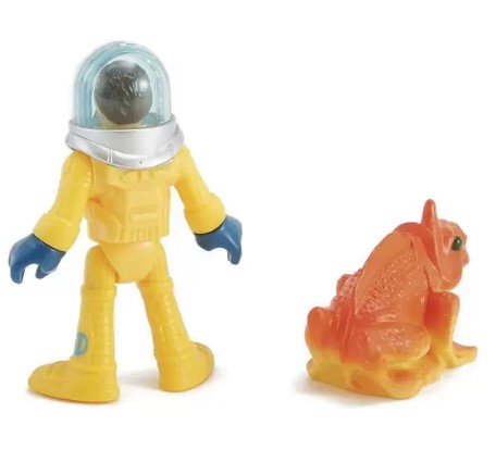 Boneco Básico Imaginext - Astronauta e Alien - Fisher Price