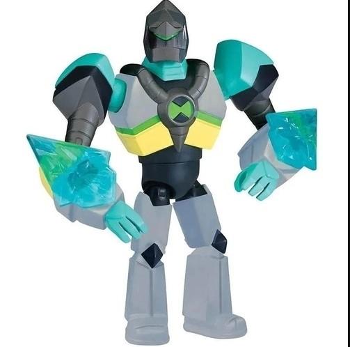 Boneco Ben 10 articulado armadura omni kix diamante sunny