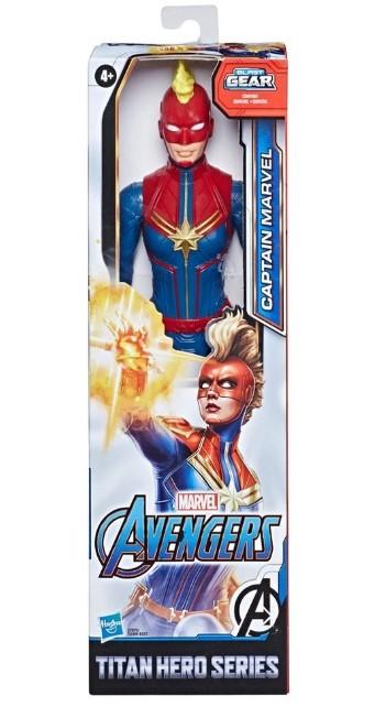 Boneco Capitã Marvel Blast Gear 12 E7875