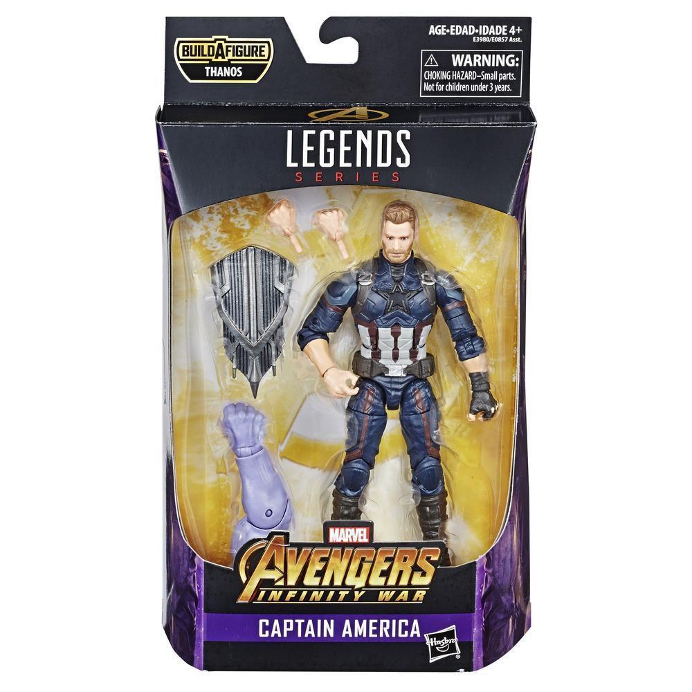 Boneco Capitão América  - Marvel Legends Series- Hasbro- E0857