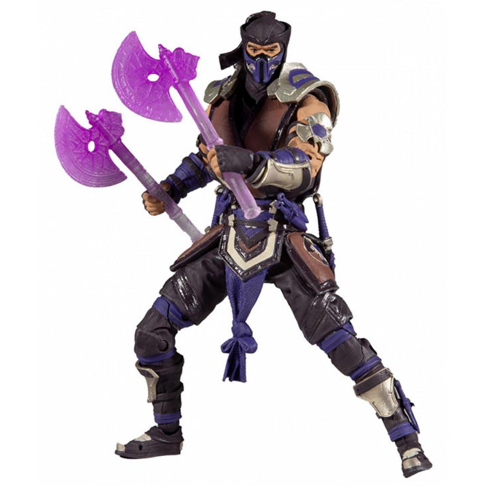 Boneco Colecionável Sub Zero Fun Mortal Kombat Mcfarlane F0053-1