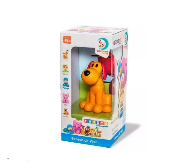 Boneco de vinil loula Pocoyo Cardoso toys 0281