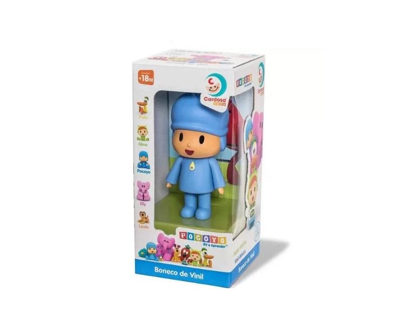 Boneco de vinil Pocoyo Cardoso toys 0275
