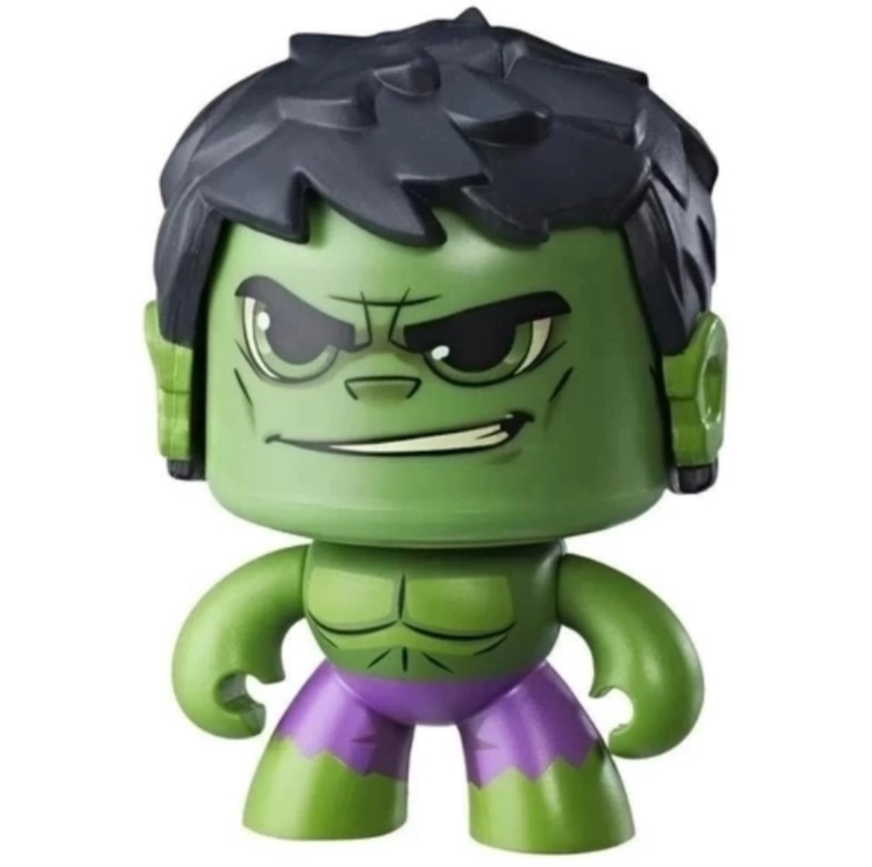 Boneco Hulk Mighty Muggs Marvel Hasbro - E2165