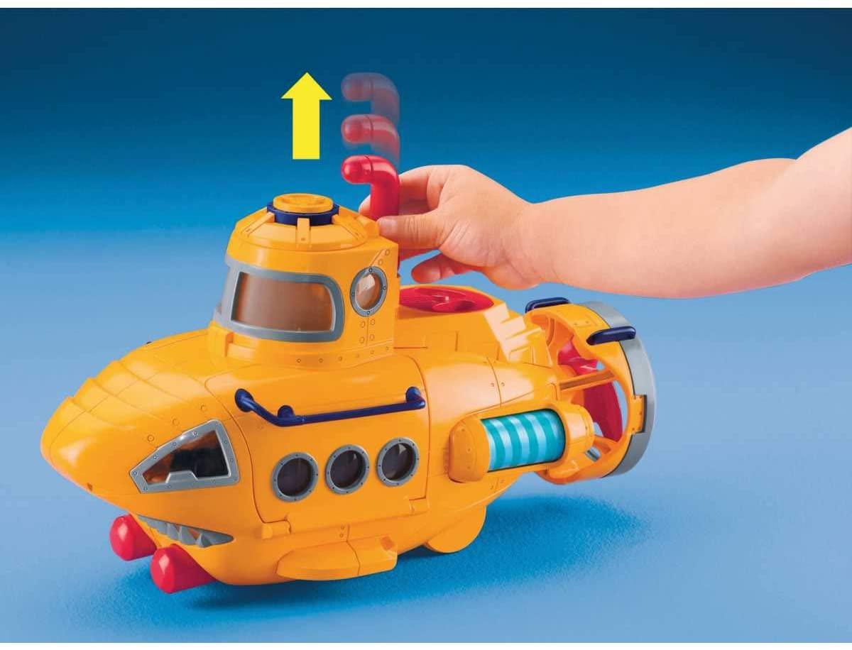 Boneco Imaginext Submarino Aventura - Mattel - N8270
