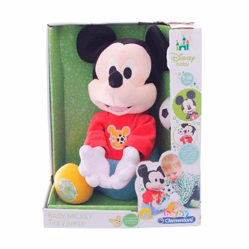 Boneco Interativo Jogue Bola com Mickey-Dican