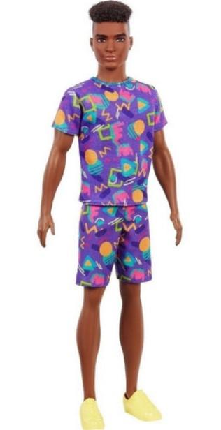 Boneco Ken Fashionista Negro 162 - Mattel