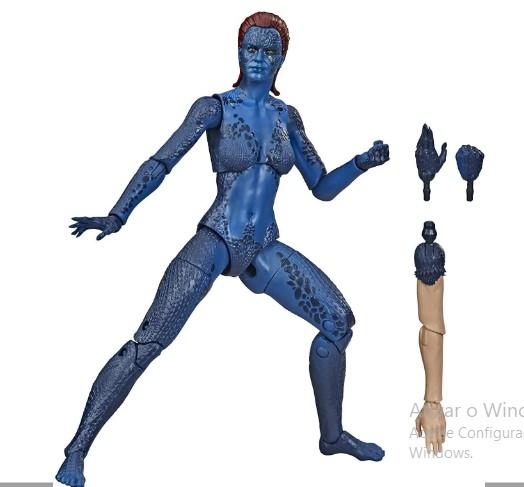 Boneco Marvel Legends Series X-Men Mistica