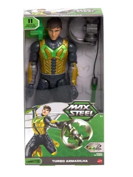 Boneco Max Steel - Turbo Armadilha - Mattel
