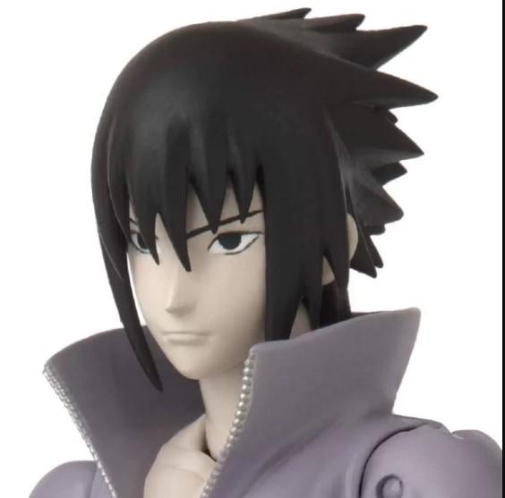 Boneco Naruto Shippuden Anime Heroes - Sasuke Uchiha