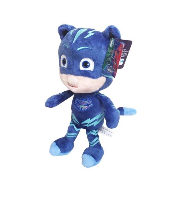 boneco pelúcia Pj Mask Menino gato-15cm - Multikids