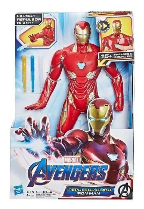 Boneco Repulsor Blast Iron Man Eletrônico Hasbro E4929