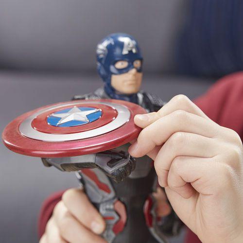 Boneco Shield Blast Capitão América Eletrônico - Hasbro - E3358