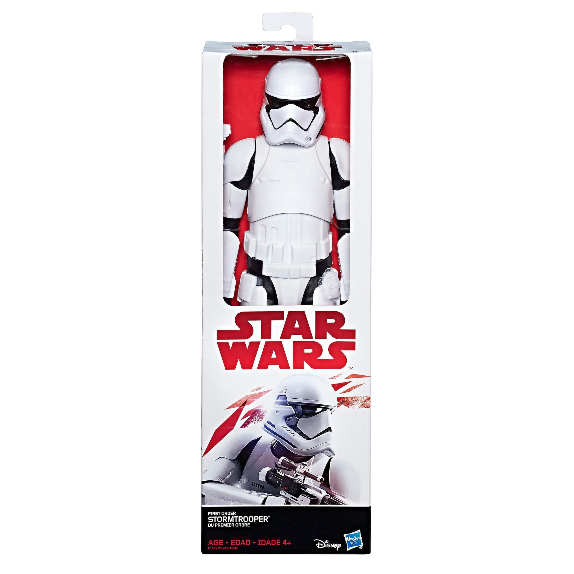 Boneco Star Wars: O Ultimo Jedi - Stormtrooper da Primeira Ordem- Hasbro- C1429