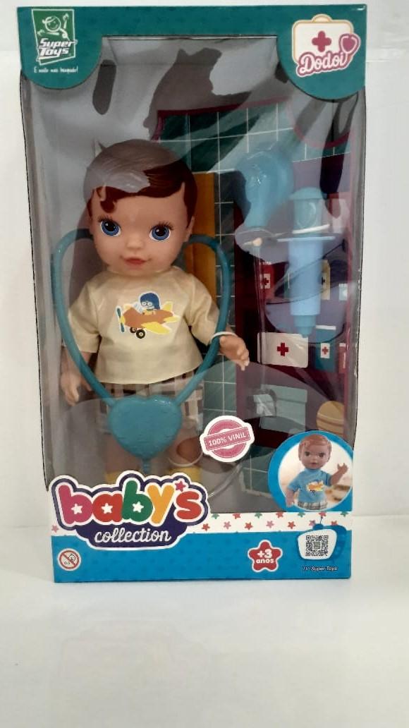 Boneco Super Toys Babys Collection Dodoi Menino Sortido 368