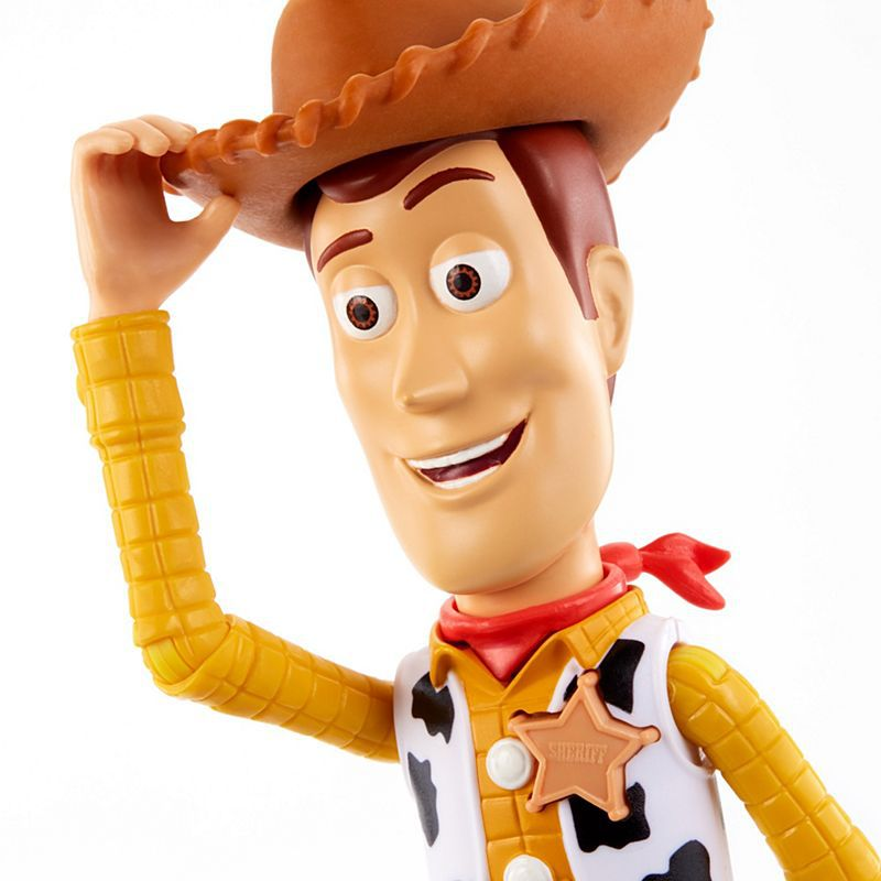 BonecoDisney Pixar Toy Story True Talkers Woody- Mattel- GFL88