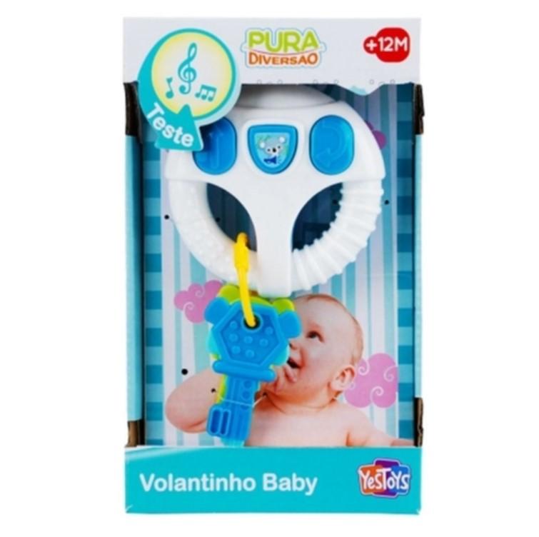 Brinquedo Baby Pura Diversão Volantinho Baby  Yes Toys