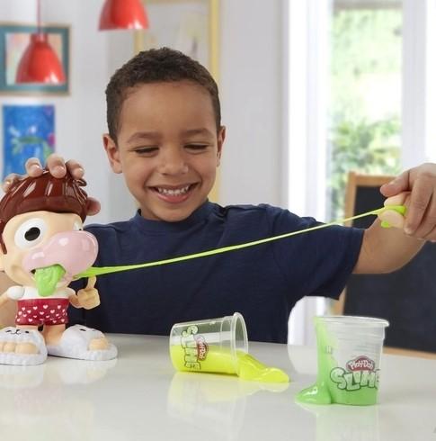 Brinquedo Boneco com Slime Play-Doh Plays Slime Snotty Scotty Hasbro E6198