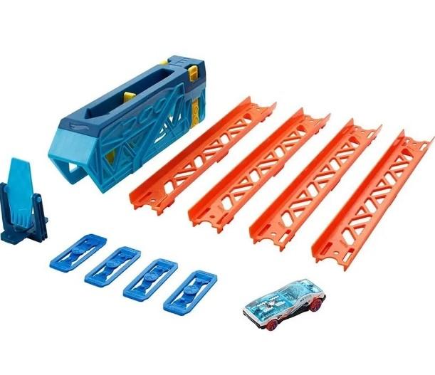 Brinquedo Hot Wheels Track Builder Pista de Impulso - GVG08