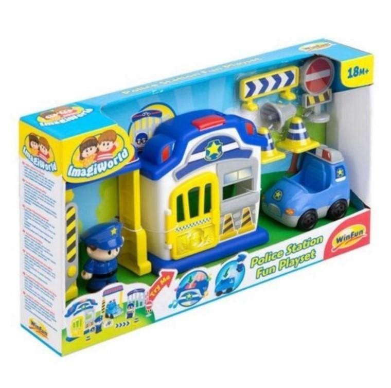 Brinquedo infantil Policia Divertida Original Da Win Fun