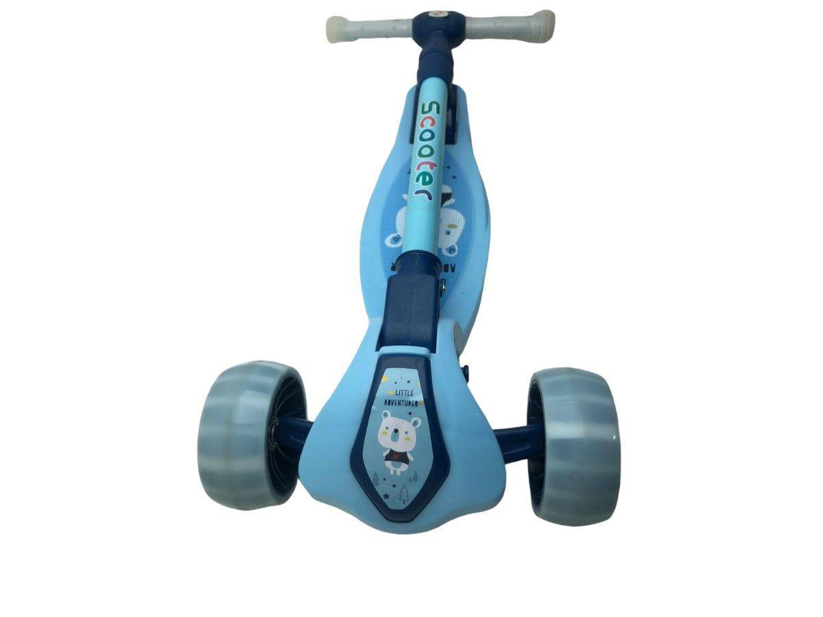 Brinquedo Infantil Para Meninos Patinete Cute Azul 1462 Unitoys