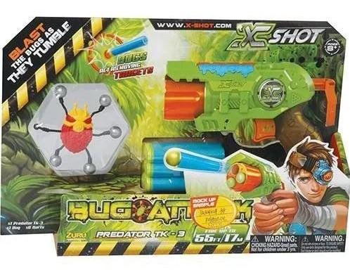 Bug Attack Predator 3 Tiros X-Shot Candide 5507