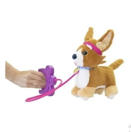 Cachorrinho Pelúcia Walking Latido Brinquedo Elétrico