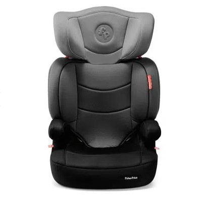 Cadeira Para Auto De 15 a 36 Kg (idade II,III) Highback Fix com Base Isofix Cinza Fisher-Price