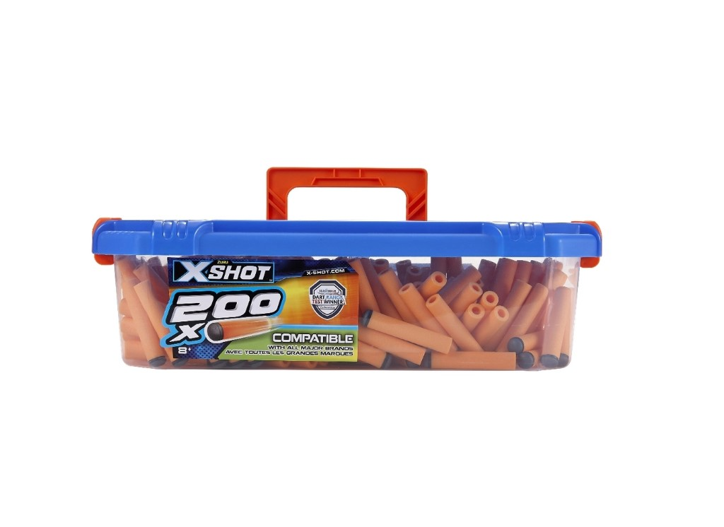 Caixa X-Shot Refil com 200 Dardos Candide
