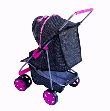Carrinho De Boneca Luxo Milano Pink  Oliveira