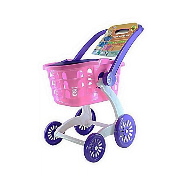 Carrinho de Supermercado Infantil Confort Baby Samba Toys 0248