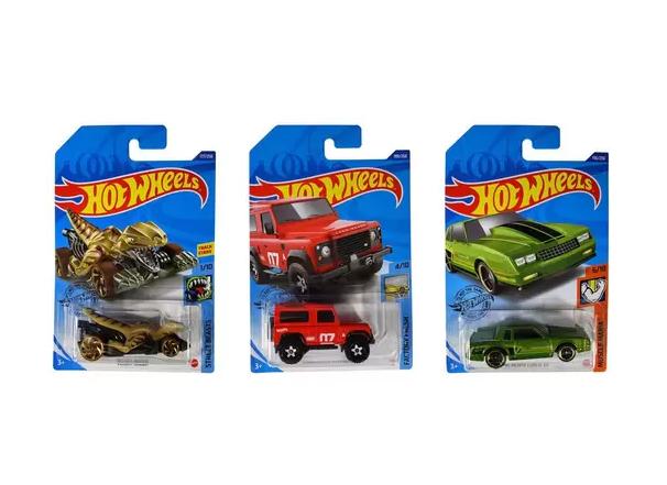 Carrinho Hot Wheels Original Sortido Kit com 3 unidades Mattel