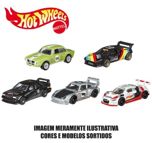 Carrinhos Hot Wheels Original  Kit com 5 unidades sortido Mattel