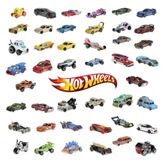 Carrinho Hot Wheels original sortido Mattel C4982