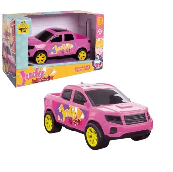 Carrinho Para Boneca Picape Rosa/Roxo Judy Samba Toys