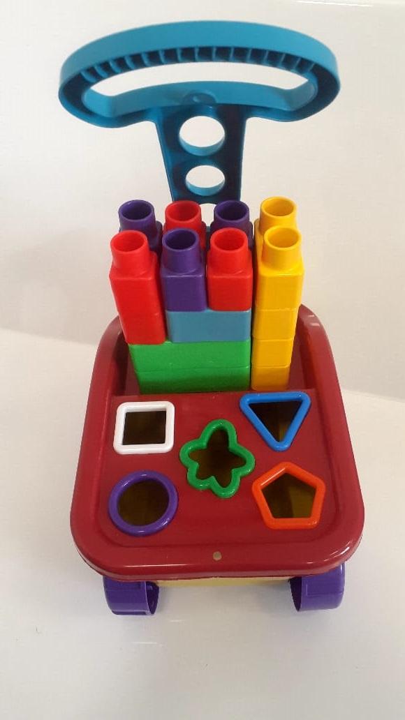 Carriola os Diver Blocos Diver Toys